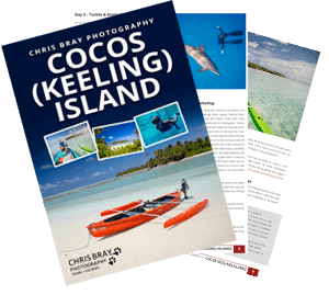 Cocos Keeling Island photo tour brochure