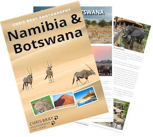 Namibia & Botswana photo tour brochure