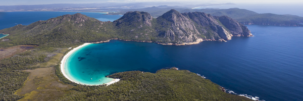 Wineglass Bay Panoramic
