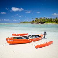 cocos island photo tour canoe