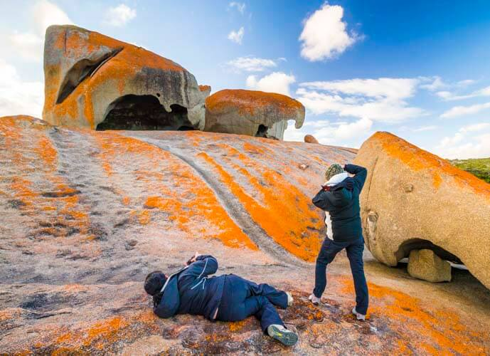 kangaroo island photography tour remarkable rocks