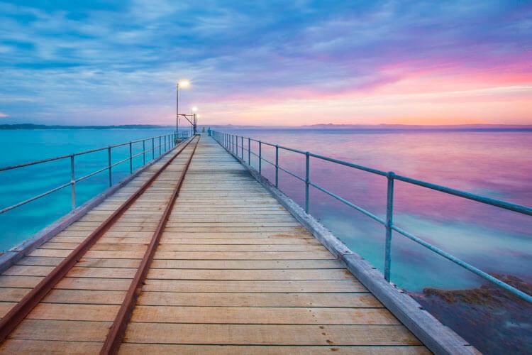 ... kangaroo island photography tour vivonne bay wharf
