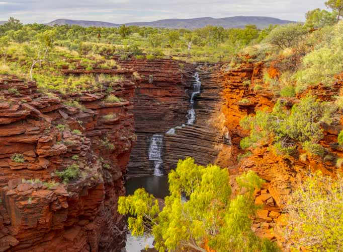 Karijini Ningaloo Photography Tour red gorge landscape