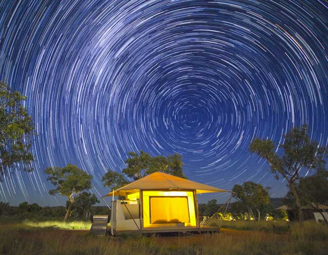 Karijini Ningaloo Photo Tour stars at night