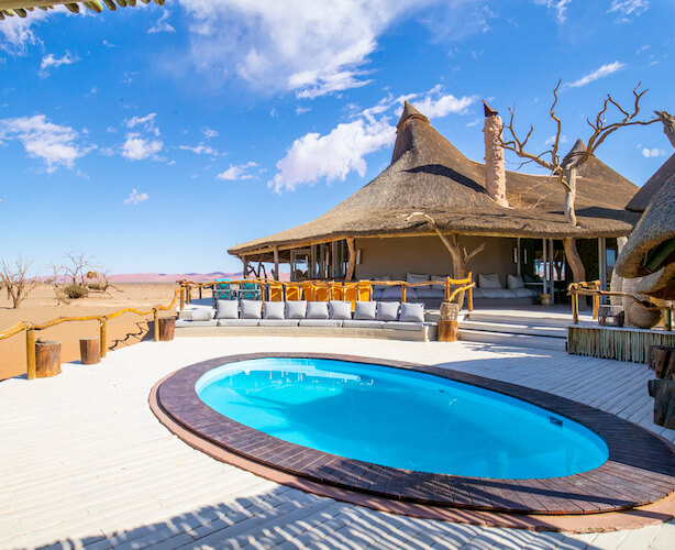 namibia botswana photo tour luxury accommodation pool