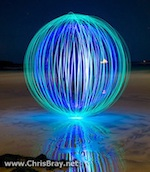 light orb sphere ball