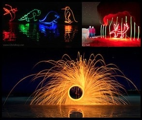 painting and drawing with light
